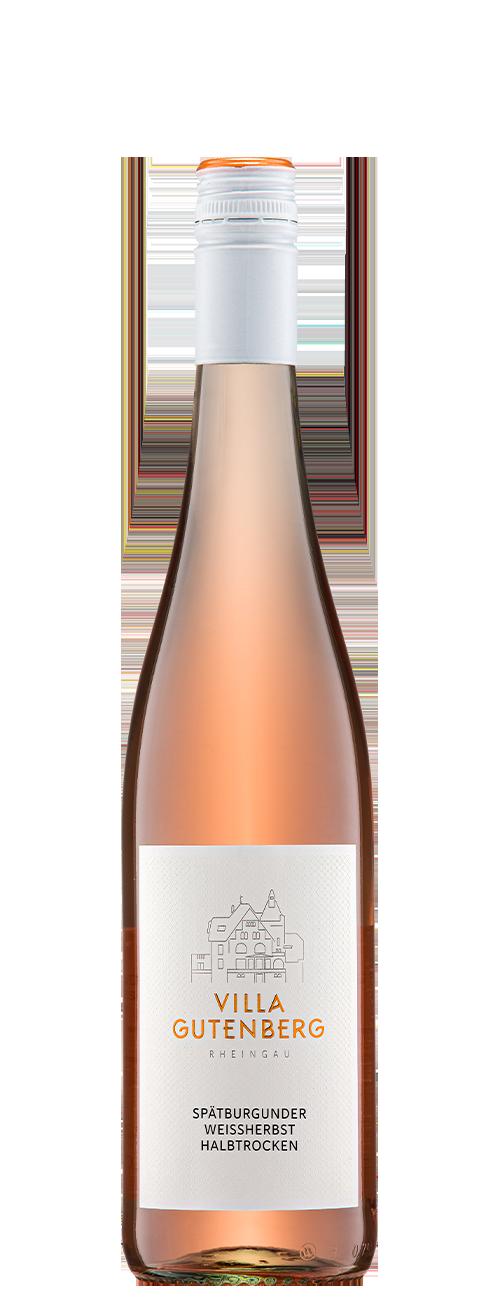 Rheingau Spätburgunder Weißherbst Qualitätswein Halbtrocken 2020
