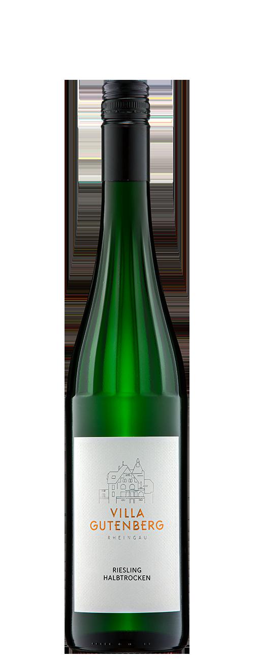 Mittelheimer Edelmann Riesling Qualitätswein Halbtrocken 2020