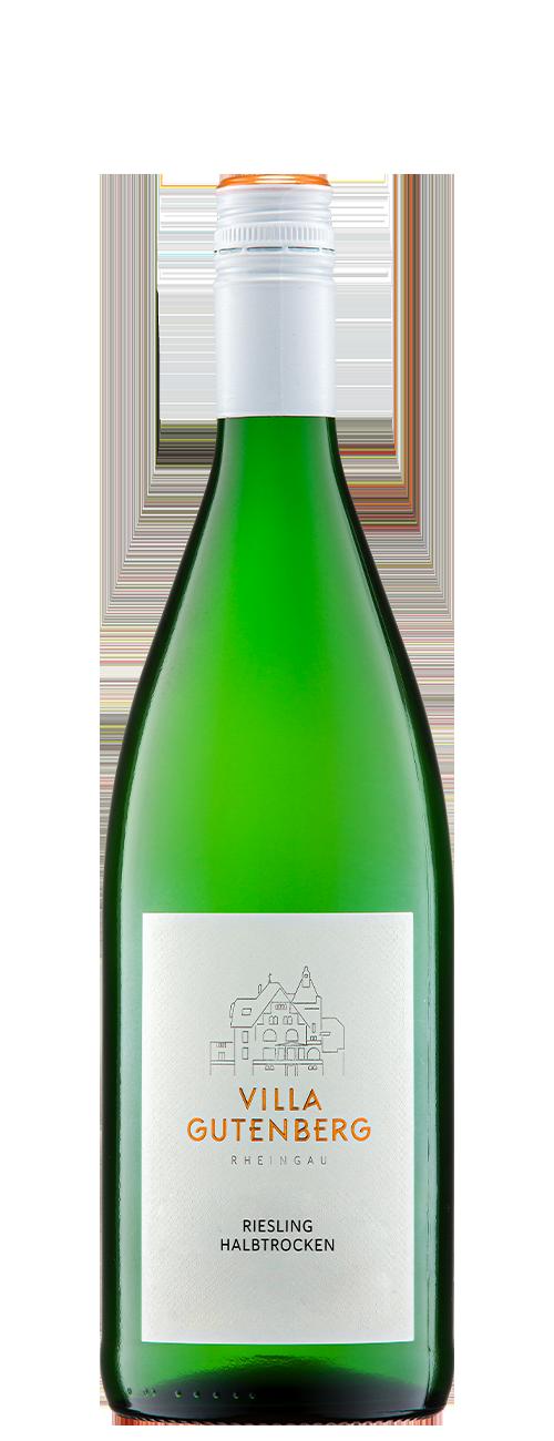 Rheingau Riesling Qualitätswein Halbtrocken 2020